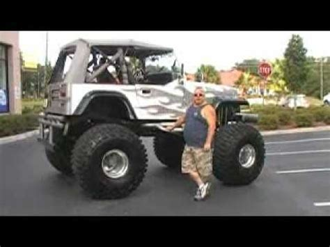 monster jeep cj monster jeep for sale youtube