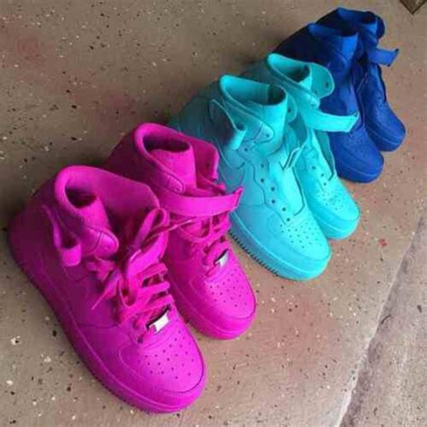 all color air ones nike air 1 high customize