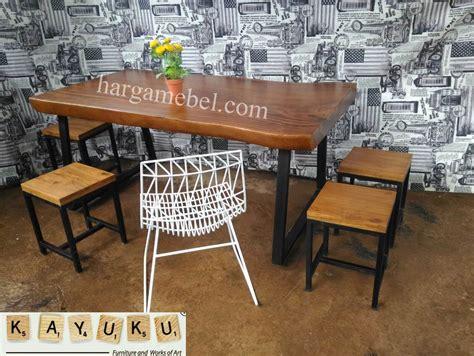 Kursi Set Cafe set meja kursi cafe industrial mebel jepara furniture minimalis