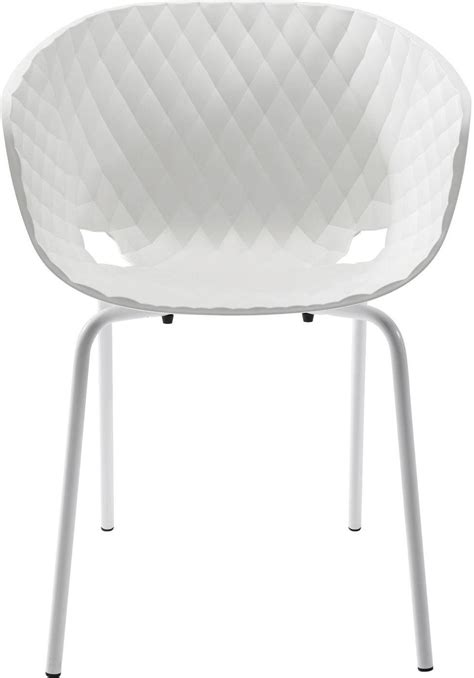 Stuhl Mit Armlehne Weiß by Stuhl Mit Armlehne Radar Wei 223 Kare Design Kaufen
