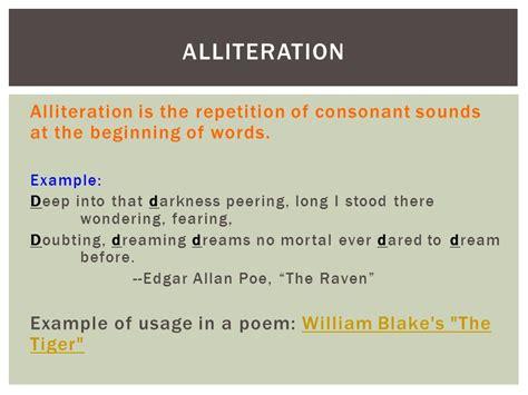 Alliteration Definition