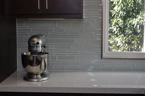 glass tile for backsplash in kitchen the most popular kitchen backsplash trends of 2015