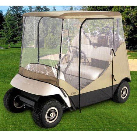 3 Sided Golf Cart Enclosures by Classic Accessories Fairway Travel Four Sided Golf Cart