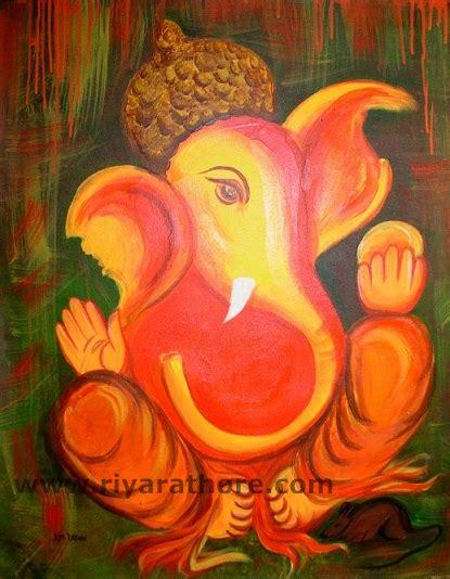 Handmade Ganesh Ji - ganesh ji handmade crafts