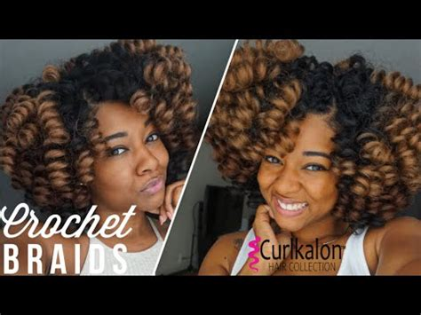 easy natural looking crochet braids | install, style