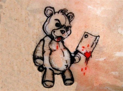 killer tattoo designs teddy tattoos designs pictures page 6
