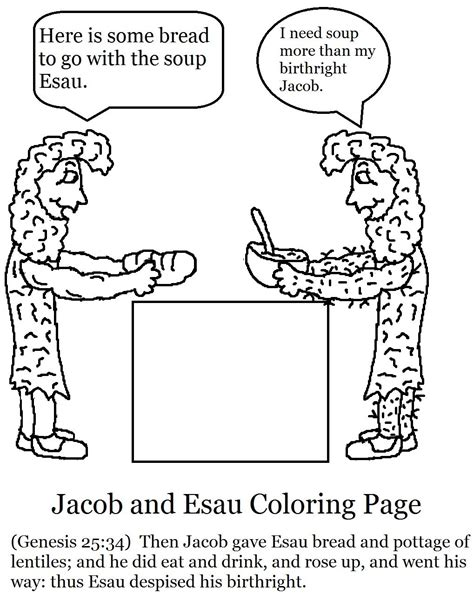 28 Jacob And Esau Crafts For