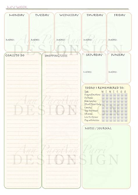 printable mom planner pages 89 best binder pages weekly planners images on pinterest