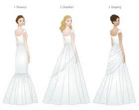 Skirt types for modest wedding dresses modeled by weddinglds com s
