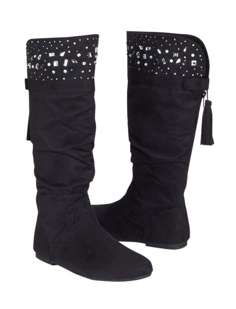 justice shoes studded cuff boots boots shoes shop justice autumn