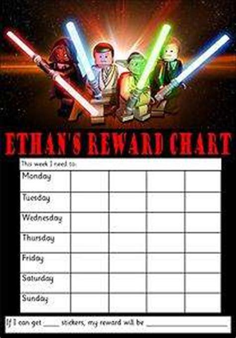 printable reward charts star wars 6 best images of star wars chore chart printable star