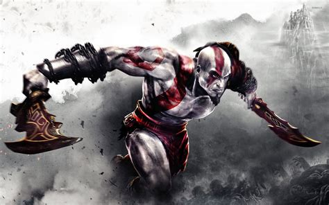 imagenes de kratos wallpaper fighting kratos in god of war wallpaper game wallpapers