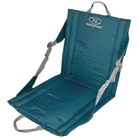 portable chair portable outdoor seat cing relax mat highlander