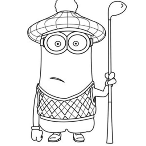 blank minion coloring page the minion coloring page kids play color blank minion