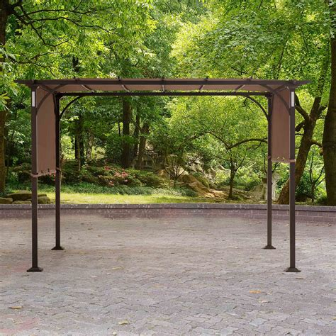 pergola canopy replacement replacement canopy for montara lighted pergola outdoor living gazebos canopies pergolas
