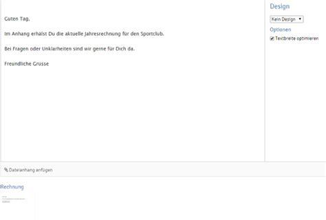 Kleinunternehmer Rechnung Per Mail Rechnung Per E Mail Versenden Webling Support