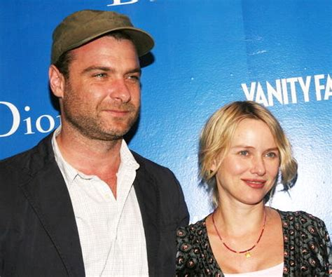 Are Watts Liev Schreiber Married by Watts And Liev Schreiber Married In Secret