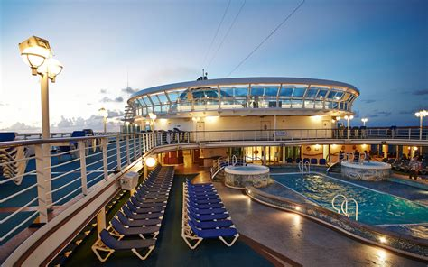princess boat cruise 12 cruise ships with incredible pools travel leisure