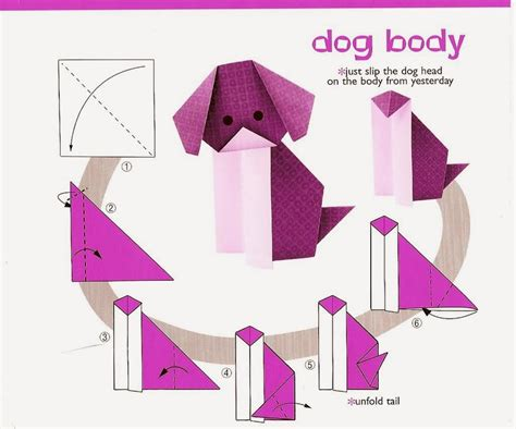 Origami Dogs - how to make origami dogs 28 images origami 186 best