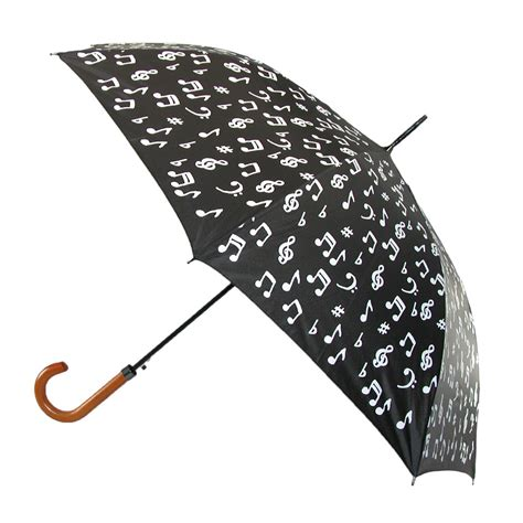 color changing umbrella womens color changing musical note umbrella by rainstopper