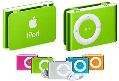 Ipod Shuffle Now In Color by Ipod Shuffle Now In New Colors Slashgear