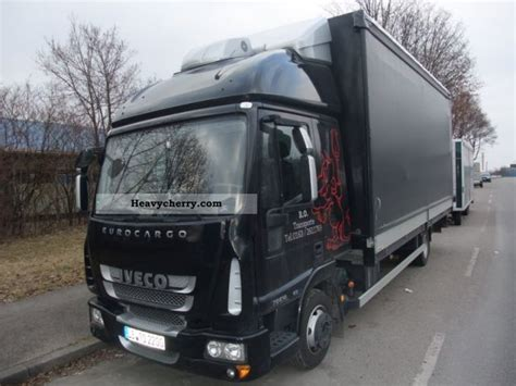 Cargo With Sleeper For Sale by Iveco Cargo 75e18 P Sleeper Cab 2011 Other Vans