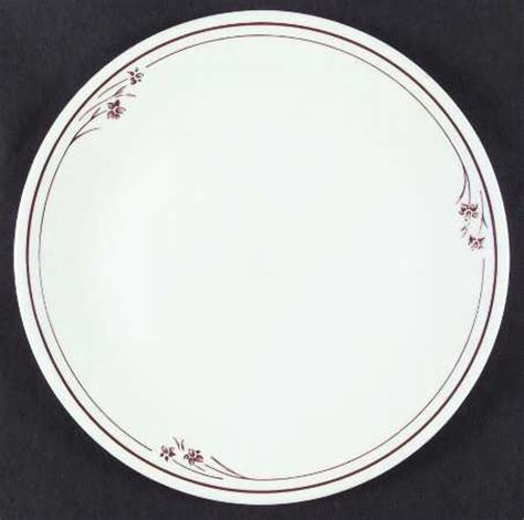corelle flower pattern corning melody brown flower and bands corelle at