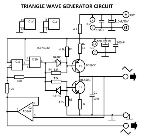 waveform generator schematic waveform free engine image