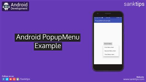 xamarin android templates pack material design android popup menu exle sanktips