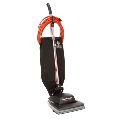 commercial model vacuum hoover commercial guardsman bagged upright vacuum cleaner