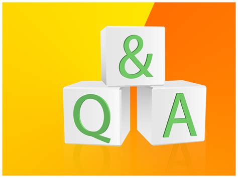 question and answer ppt template q a powerpoint template