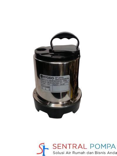 pompa celup kolam 60 watt sp 2400l sentral pompa
