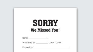 We Miss You Card Template by Print Business Forms At Office Depot Officemax