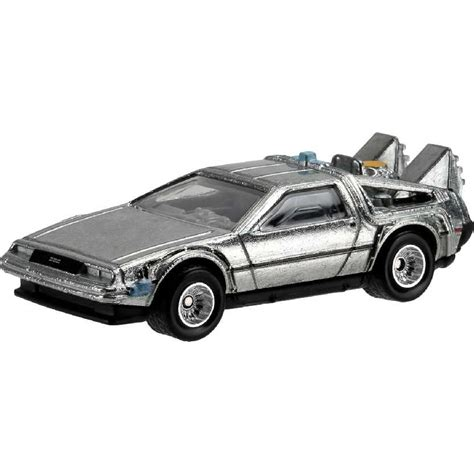 Hotwheels 1 64 Retro Back To The Future Time Machine Hover Mode 1 wheels retro entertainment back to the future delorean