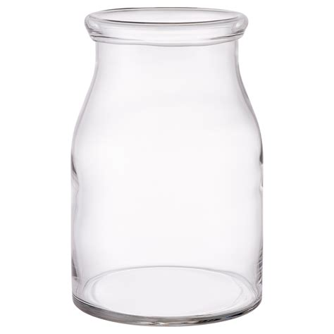 Vase Clear Glass by Beg 196 Rlig Vase Clear Glass 29 Cm