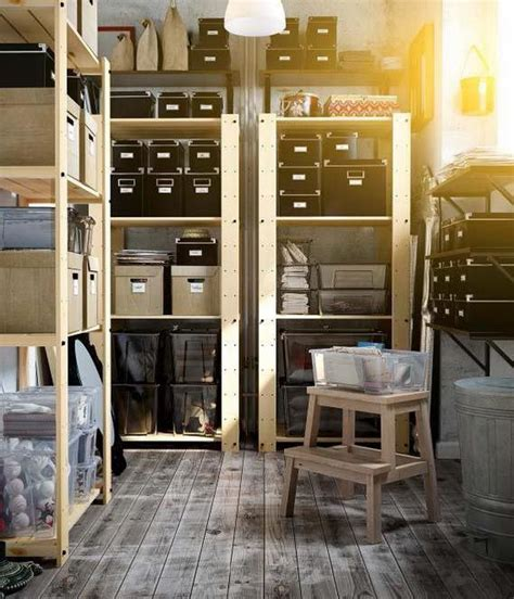 get control of your basement storage space with sturdy