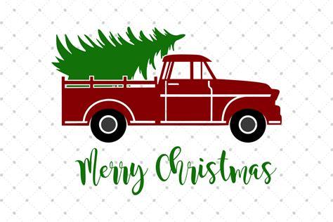 christmas jeep clip art christmas tree truck svg cut files by s design bundles
