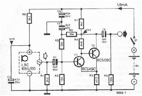 transistor lifier circuit design microphone circuit page 7 audio circuits next gr