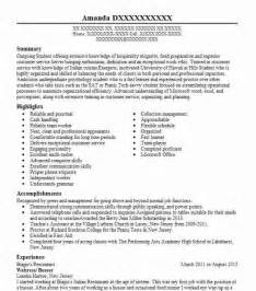 Server Busser Resume Sle Busboy Resume Sle Best Resume Gallery