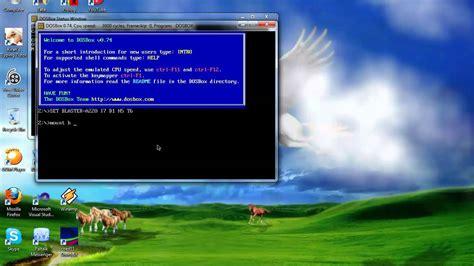 dosbox tutorial windows 10 run turbo c compiler in windows 7 and vista using dosbox