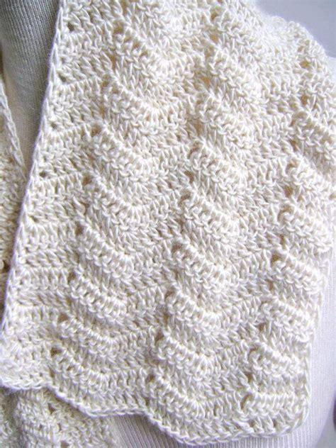 scarf pattern pinterest lacy crochet scarf pattern easy beginner by