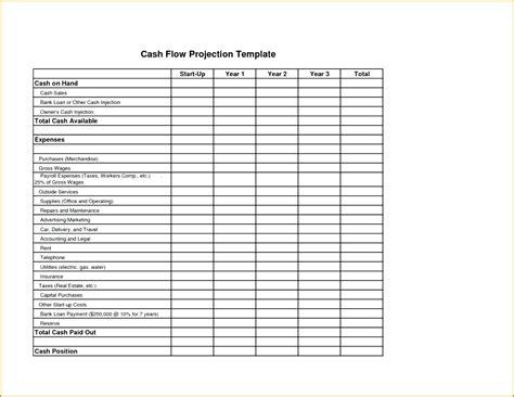 sample cash flow statement 7 examples format