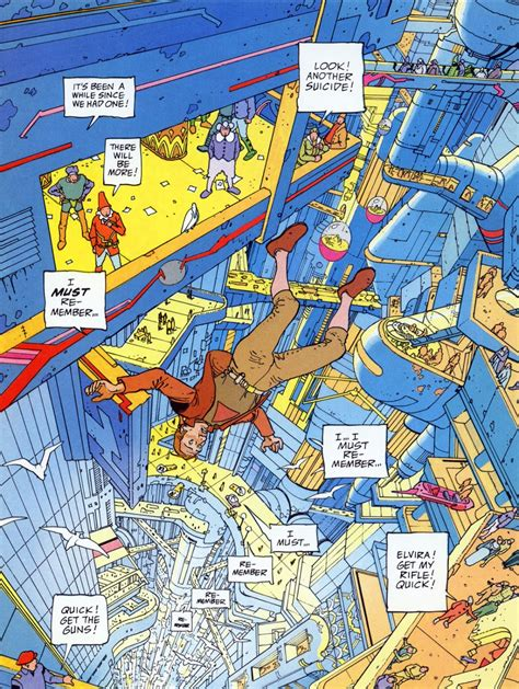 the incal the comic pusher creating the universe the incal by