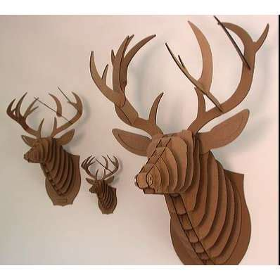cardboard deer template 16 cardboard deer ideas guide patterns