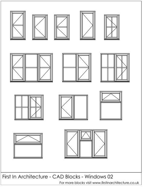 design center window autocad free cad blocks window elevations first in architecture