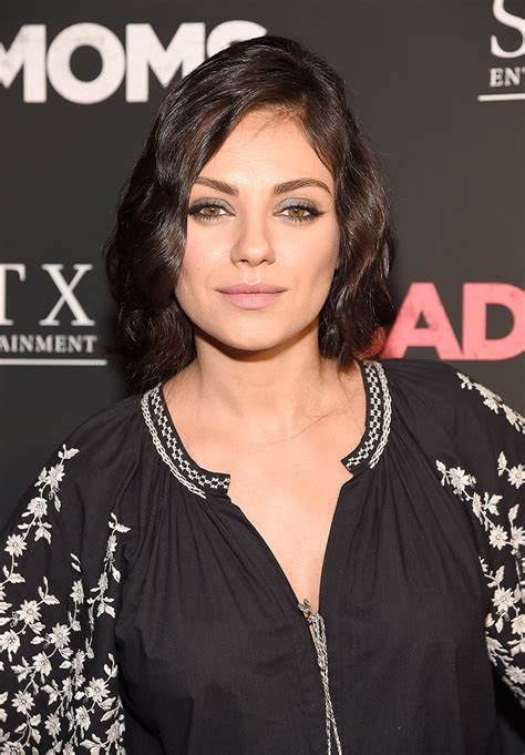 mila kunis may or may not have cut her hair into a super