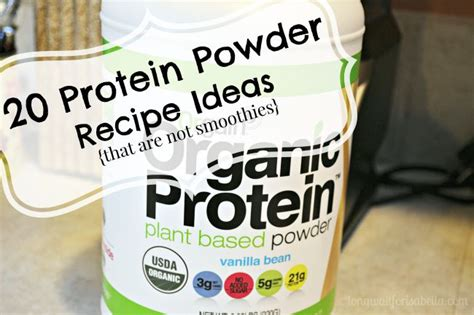 protein powder recipes 20 protein powder recipe ideas not smoothies