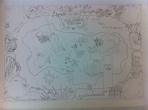 Atlanta Botanical Garden Map Atlanta Botanical Gardens Children S Garden Map On Behance