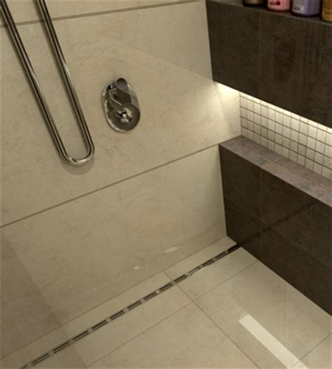 bathroom channel drain trench drain systems quickdrain usa