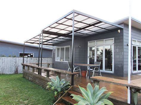 Awnings Nz by Deck And Patio Verandah Awnings
